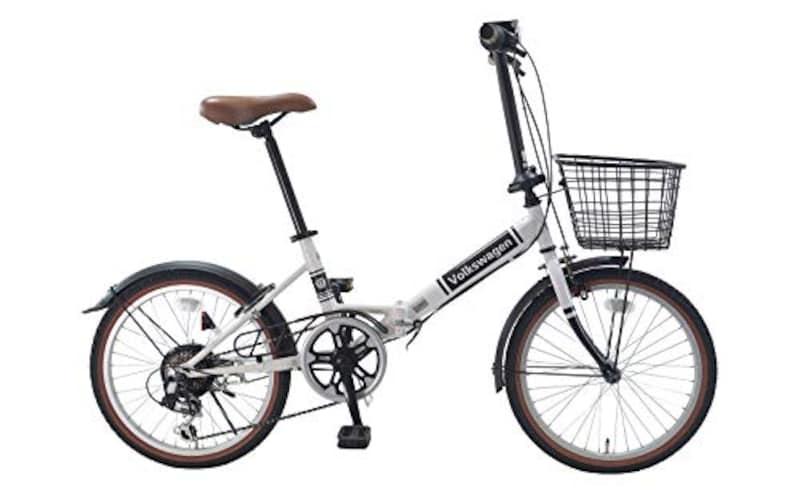 フォルクスワーゲン(Volkswagen),折りたたみ自転車 20インチ シマノ6段変速  ,VW-206G