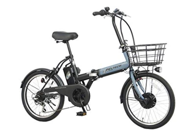 ペルテック(PELTECH),折りたたみ式電動自転車,TDN-208