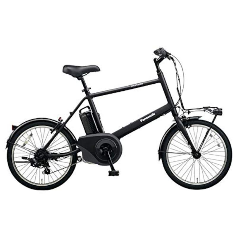 パナソニック(Panasonic), 折りたたみ電動自転車 ベロスターミニ,BE-ELVS072-B