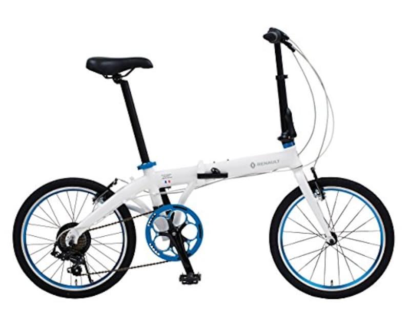 ルノー(RENAULT ),折りたたみ自転車 軽量アルミフレーム,LIGHT10 AL-FDB207