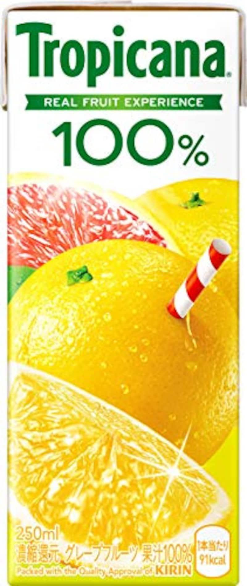 トロピカーナ,100% グレープフルーツ