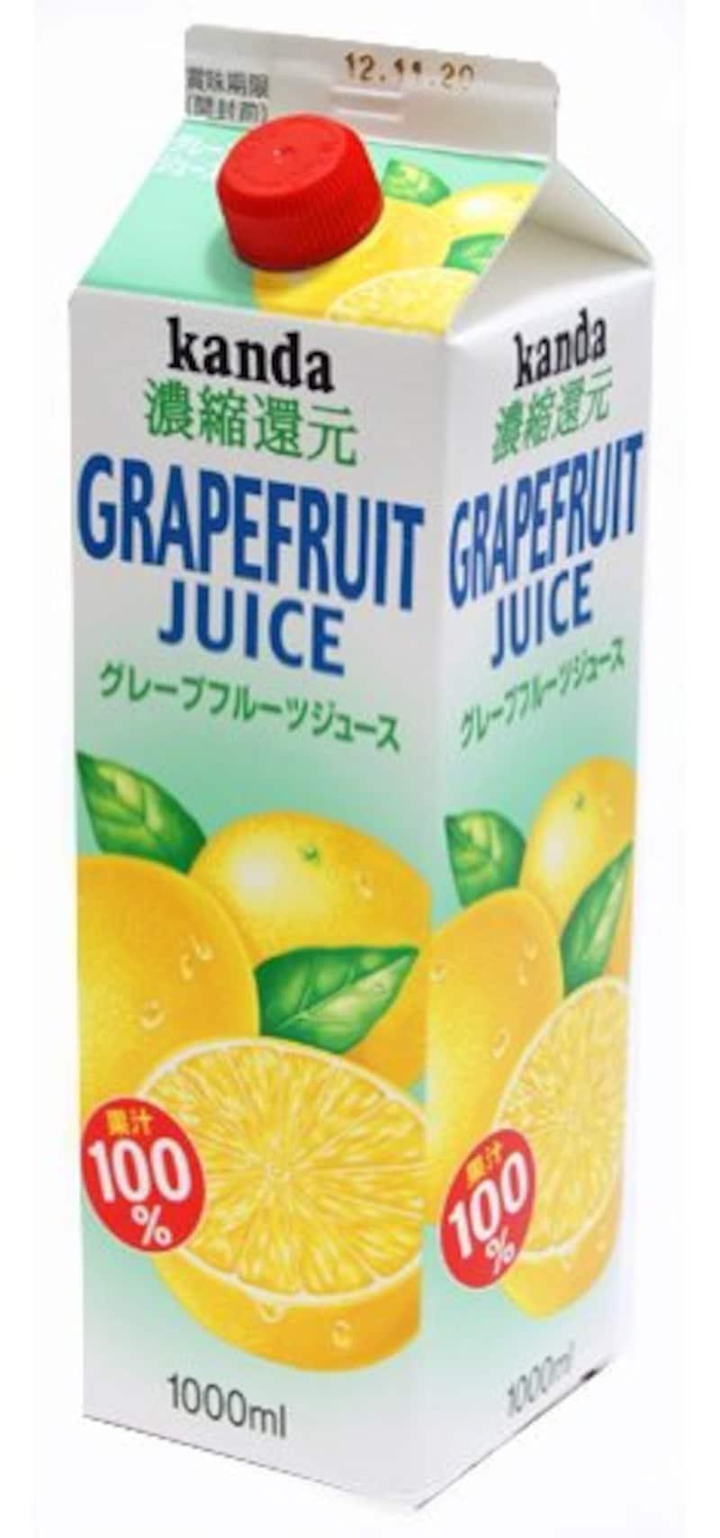 神田食品研究所,グレープフルーツジュース
