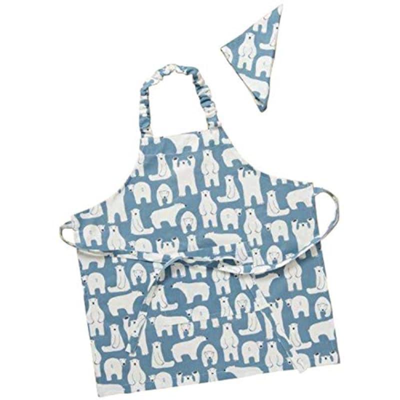 レップ,三角巾 ブルー