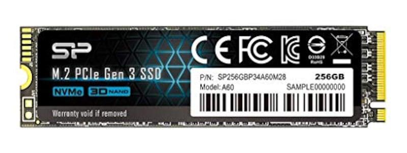 シリコンパワー,SSD 256GB P34A60シリーズ,SP256GBP34A60M28