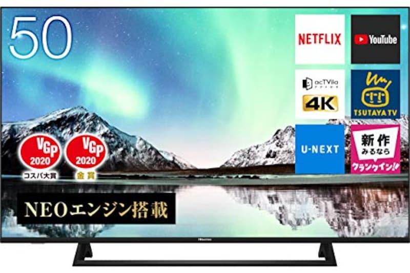 Hisense(ハイセンス),50V型 4K液晶テレビ,50E6800