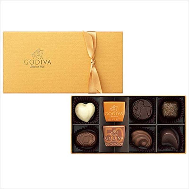 GODIVA(ゴディバ),ゴールド コレクション(8粒入),201176