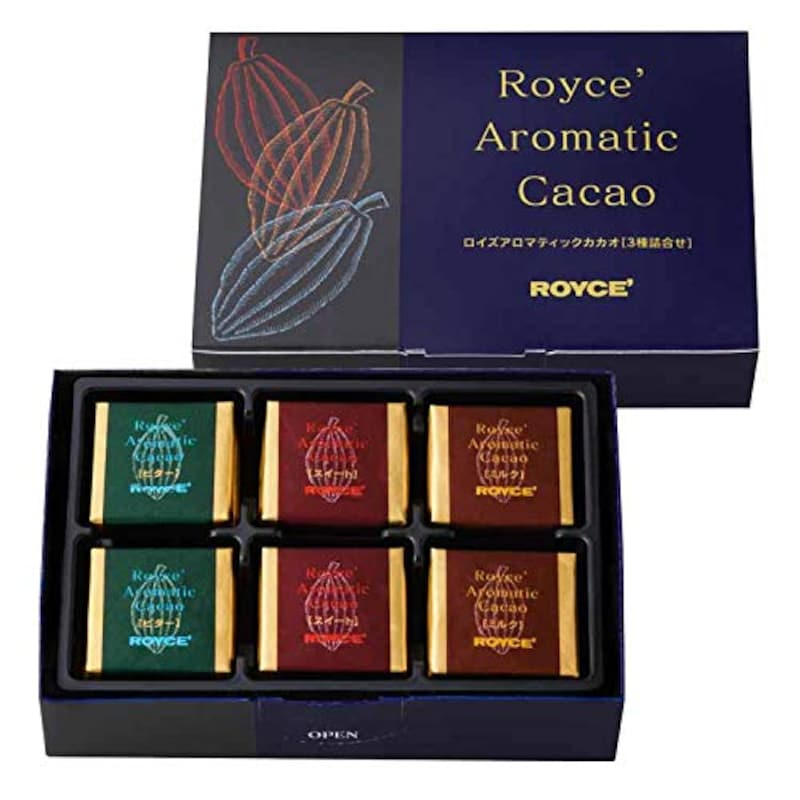 ROYCE'(ロイズ),ロイズアロマティックカカオ 3種詰合せ,450
