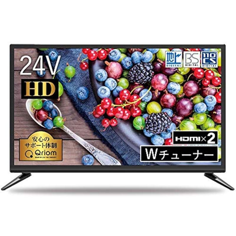 山善(YAMAZEN),24V型 ハイビジョン液晶テレビ,QRT-24W2K