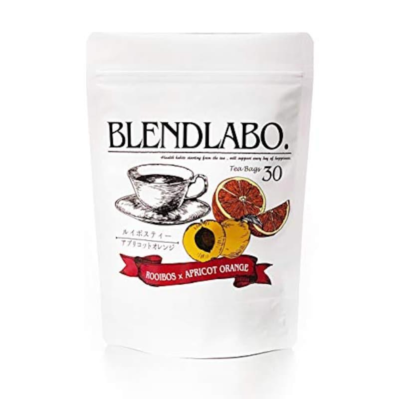 ふくちゃ,BLEND LABO(ブレンドラボ)ルイボスティー アプリコットオレンジ