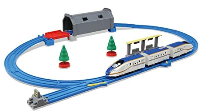 タカラトミー,プラレール トンネルを照らそう!ライト付 E7系新幹線かがやきベーシックセット
