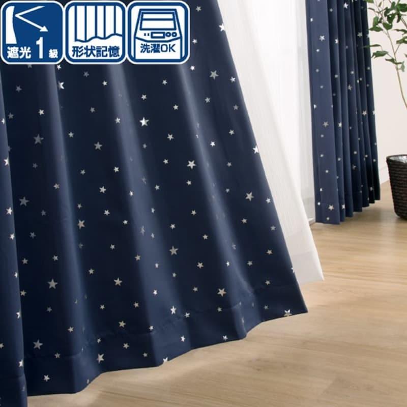ニトリ,既製カーテン ステラ