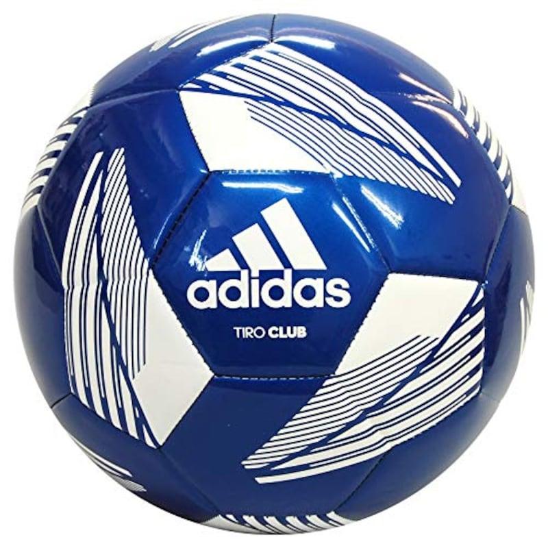 adidas(アディダス),サッカーボール ティロクラブ T ブルー 4号,AF4889B