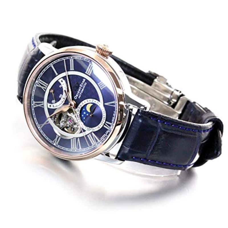 ORIENT(オリエント),腕時計 オリエントスター クラシック メカニカルムーンフェイズ,RK-AM0009L