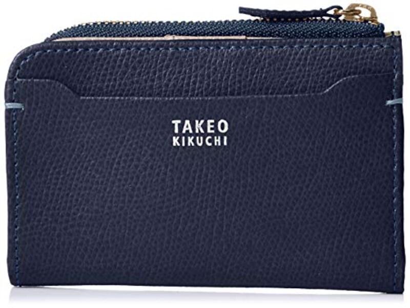 TAKEO KIKUCHI(タケオキクチ),キーケース ファスナー小銭入れ