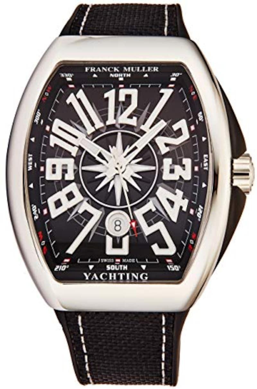 FRANCK MULLER(フランク ミュラー),Vanguard ヨットメンズステンレススチール自動腕時計,V45 SC DT YACHT NR