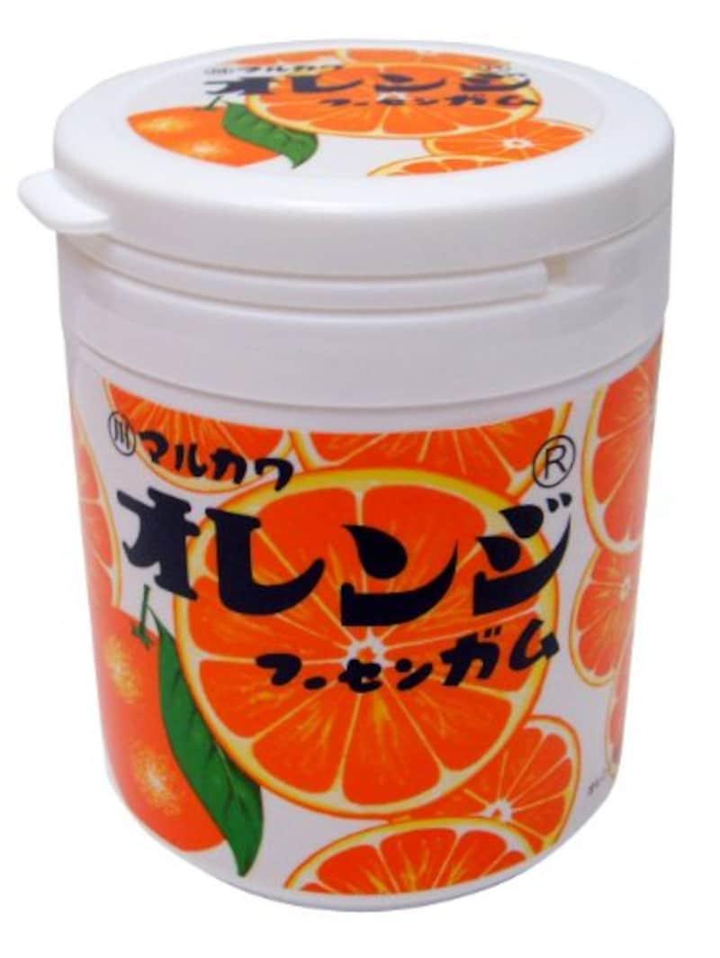 丸川製菓,オレンジマーブルガムボトル