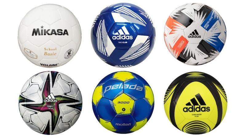 サッカーボールサイズ別おすすめ19選と選び方 大人用の5号・4号・3号を紹介!アディダスの検定球や公式球も