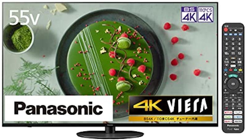 パナソニック(Panasonic),55V型 4Kダブルチューナー内蔵液晶テレビ VIERA,TH-55JX950