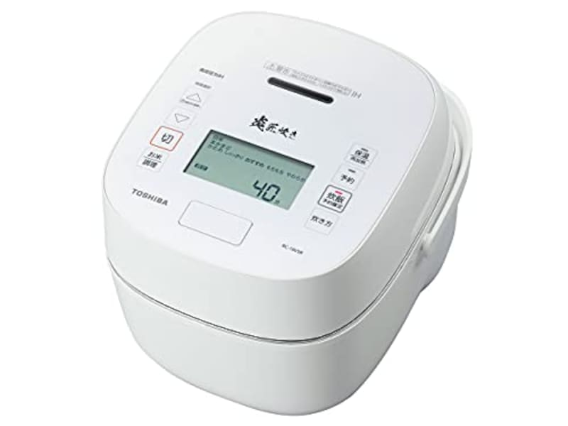 TOSHIBA(東芝),真空圧力IHジャー炊飯器 炎匠炊き,RC-10VSR-W