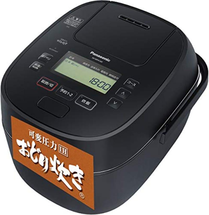 Panasonic(パナソニック),可変圧力IHジャー炊飯器 おどり炊き,SR-MPA180-K
