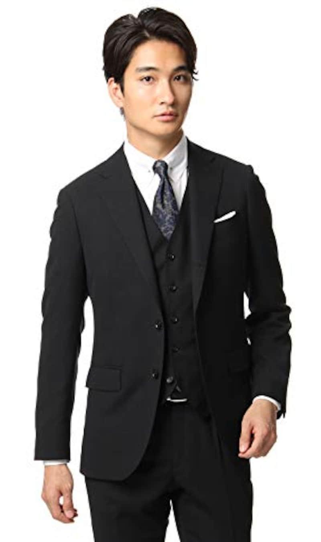 洋服の青山(ヨウフクノアオヤマ),PERSON'S FOR MEN PURPLE LABEL 春夏用 スタイリッシュスーツ,PSU20S11-91