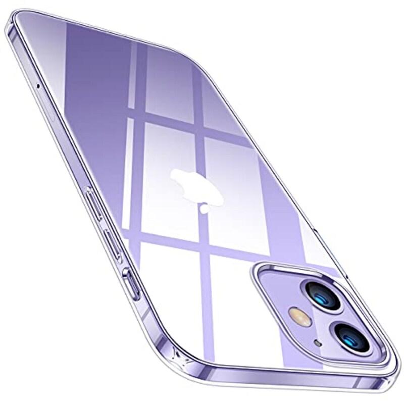 TORRAS,全透明 iPhone 12 mini 用 ケース,TS-YG54-CL-JP