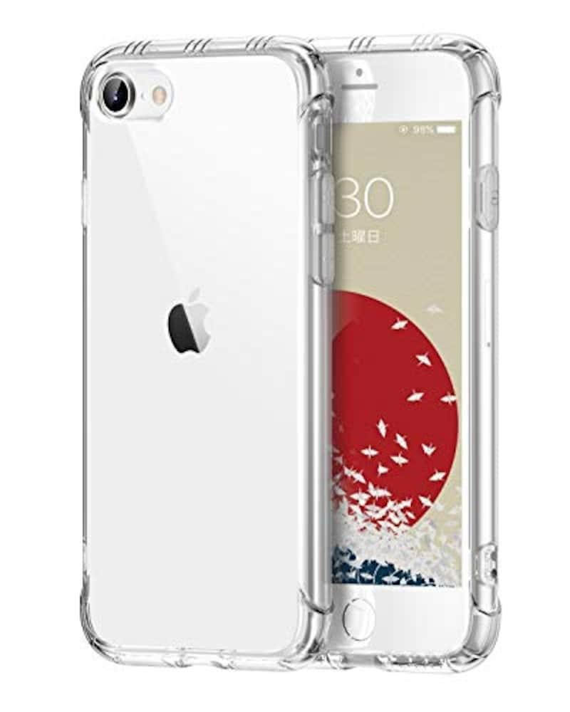ONES,高透明 iPhone SE/8/7 ケース,iPhoneSE / iPhone8 / iPhone7など