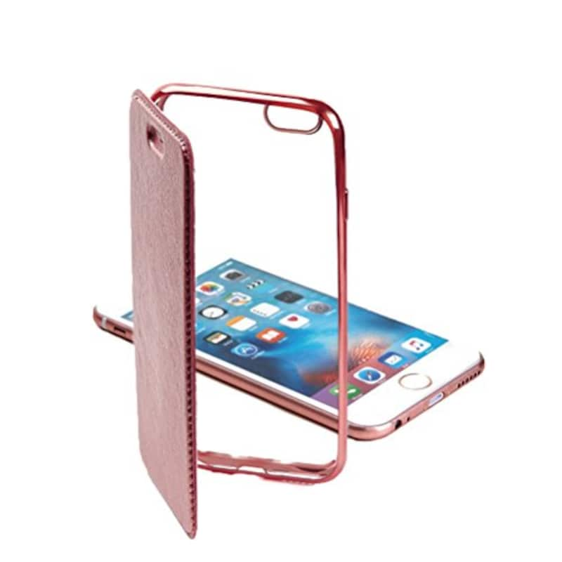 Carrier-City,iPhone 12 ケース,side-diary-case-roze-ip