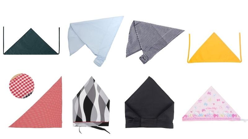 三角巾のおすすめ人気ランキング15選|大人用や子供用、着脱のしやすいゴム付きを紹介!巻き方/付け方も解説