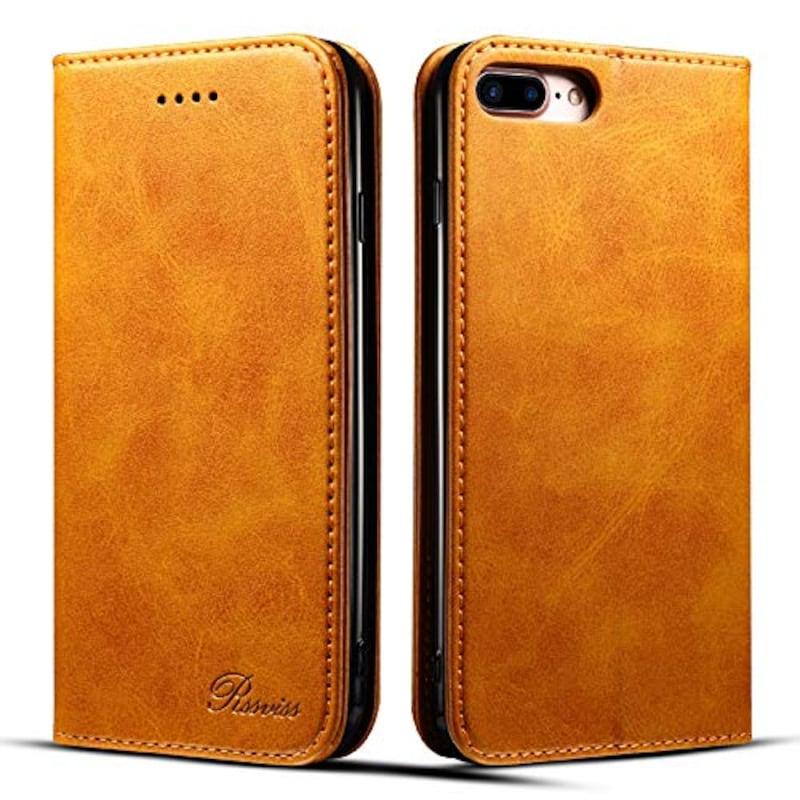 Rssviss,iPhone8Plus ケース,JP-W1-i8p-orange