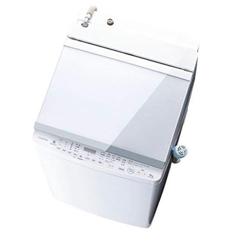東芝(TOSHIBA),縦型洗濯乾燥機 洗濯 10kg ZABOON(ザブーン) グランホワイト,AW-10SV8-W