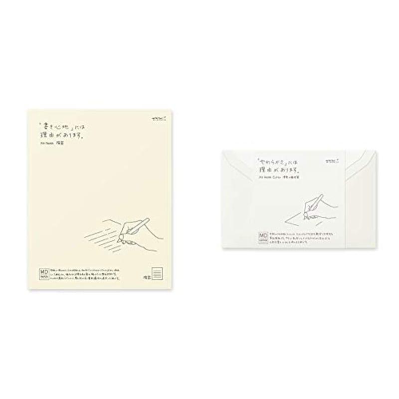 デザインフィル,ミドリ MD便箋&MD封筒,20538006