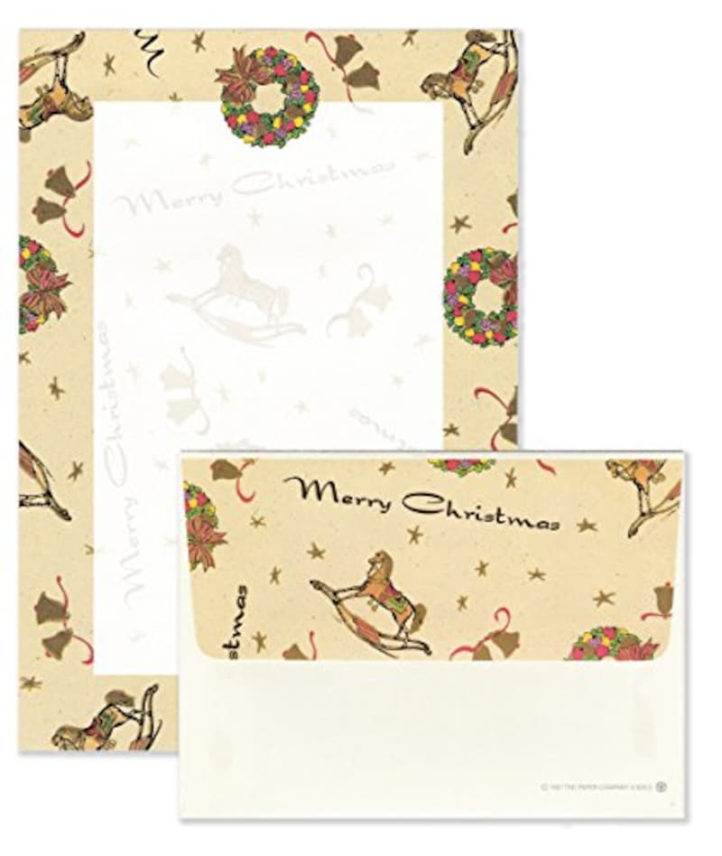 The Paper Company,クリスマス レターセット,606XS