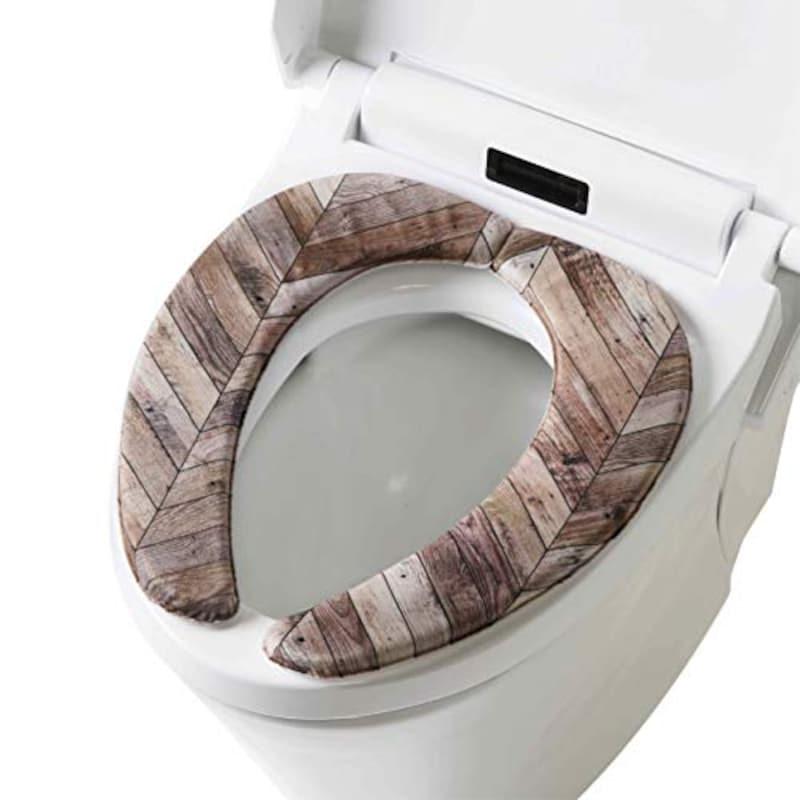 Yokozuna(ヨコヅナクリエーション),拭けるトイレマットシリーズ さらふわ便座クッション