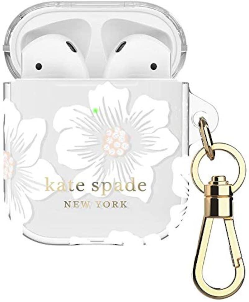 Kate spade(ケイトスペード),Airpods用フレキシブルケース,KSAP-001-HHCCS