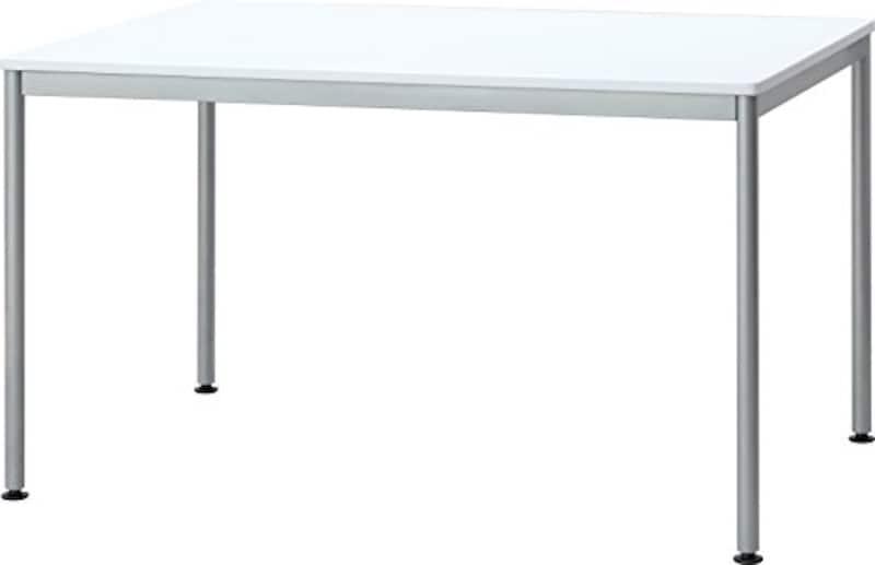 ナカバヤシ ,ユニットテーブル 1200×750 ホワイト,HEM-1275W