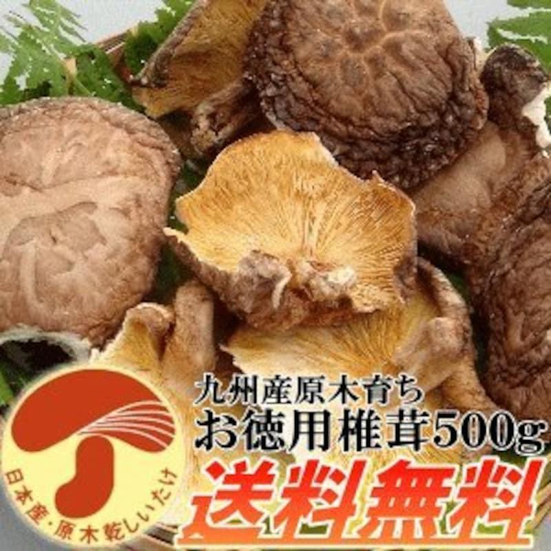 自然の都タマチャンショップ,九州産原木育ちお徳用椎茸