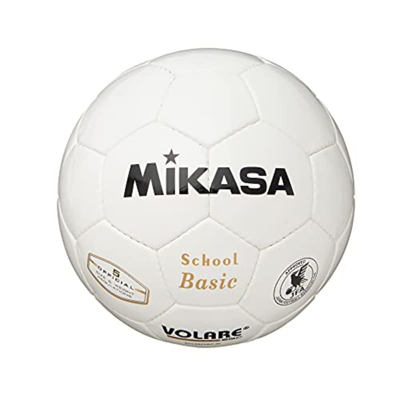 MIKASA(ミカサ),サッカーボール 検定球 ,SVC502SBC-W
