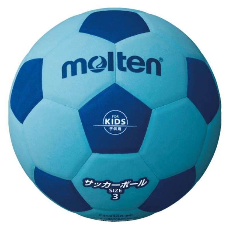 molten(モルテン),サッカーボール サッカー 軽量3号 ブルー×シアン