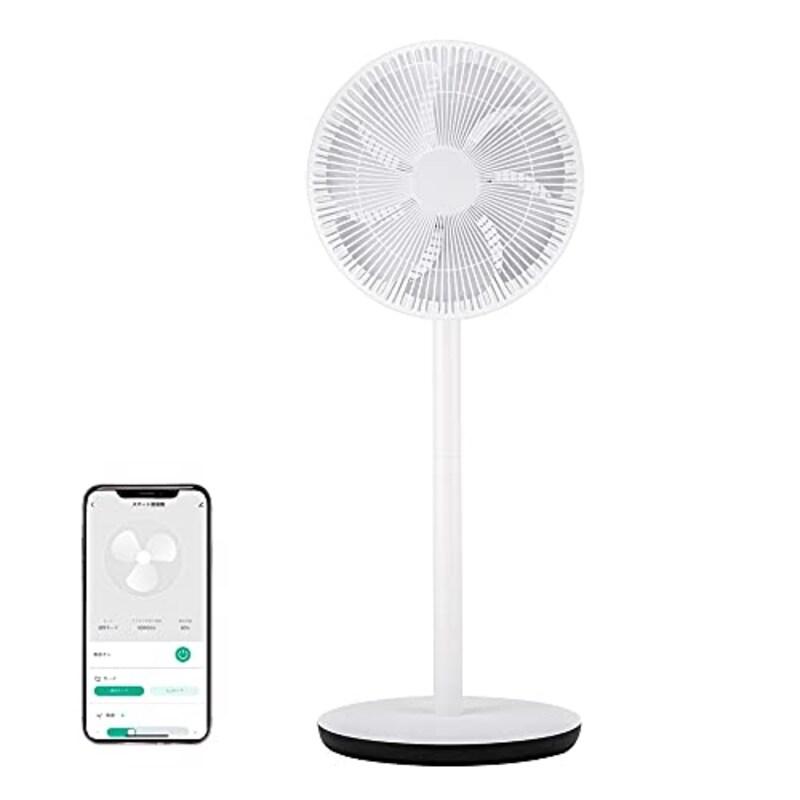 +Style (プラススタイル),スマート扇風機,PS-FAN-W01