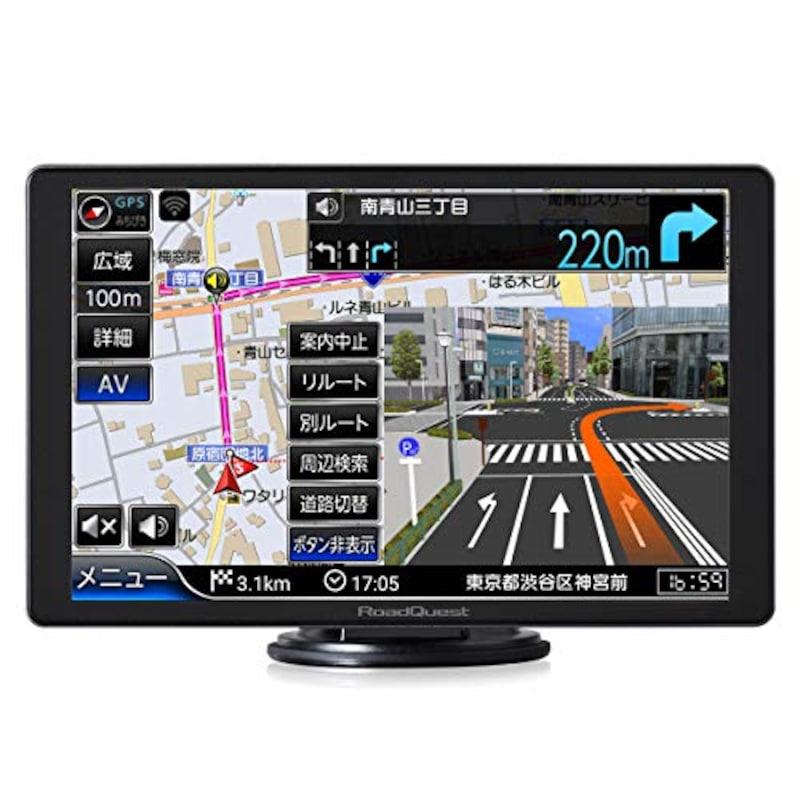 Road Quest(ロードクエスト),8インチ 高精細(HD)16GBフルセグナビ,RQ-A820PVF-2021