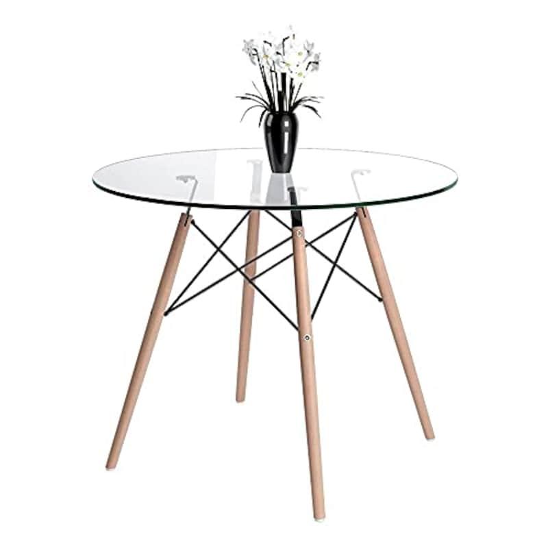 QihangJP,カフェテーブル 円形,YEDS202011009GCR