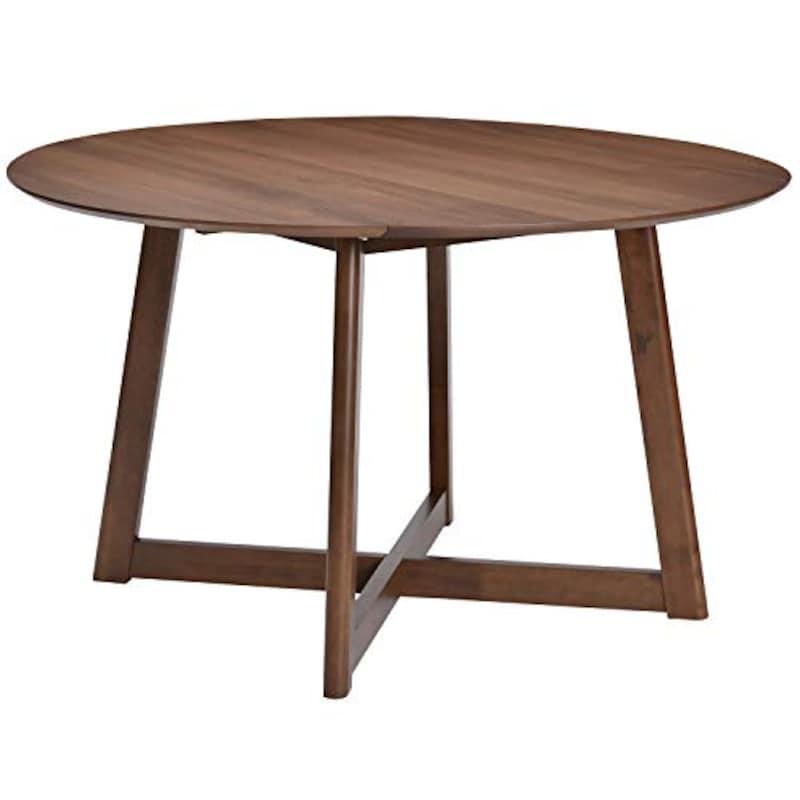 タマリビング(Tamaliving) ,ビートル 伸長式ダイニングテーブル 丸,50004912