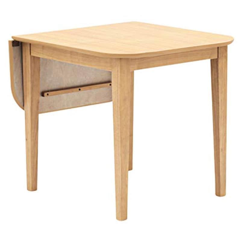 モダンデコ ,伸長式ダイニングテーブル 2人用