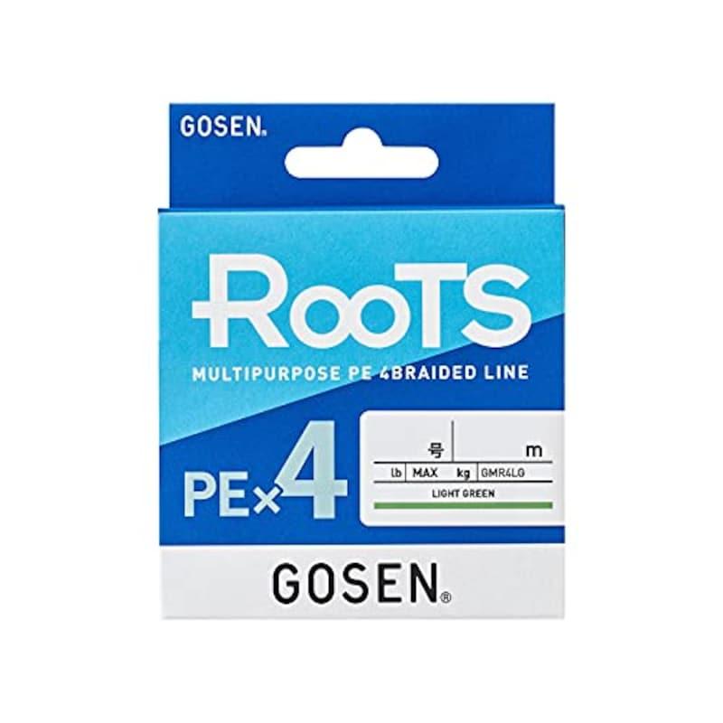 GOSEN(ゴーセン),ルーツ PE