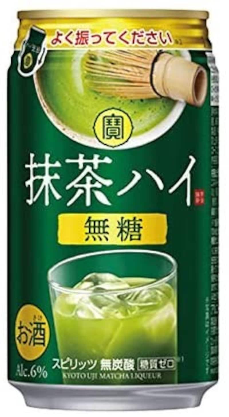 宝酒造,寶 抹茶ハイ 無糖 350ml缶×2ケース(全48本)