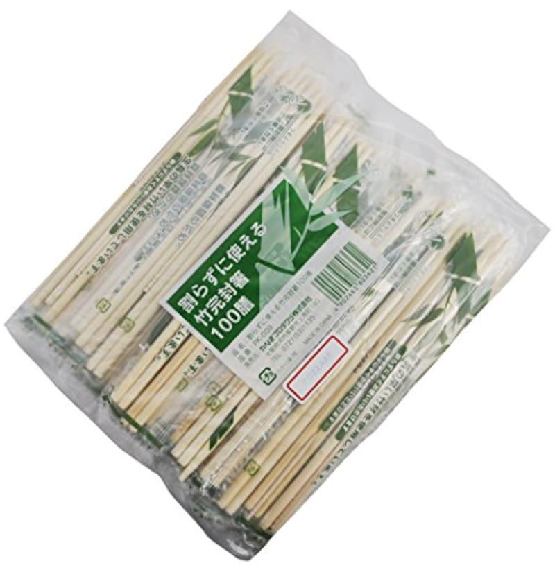 やなぎプロダクツ,割らずに使える 完封箸 100膳,PK-009