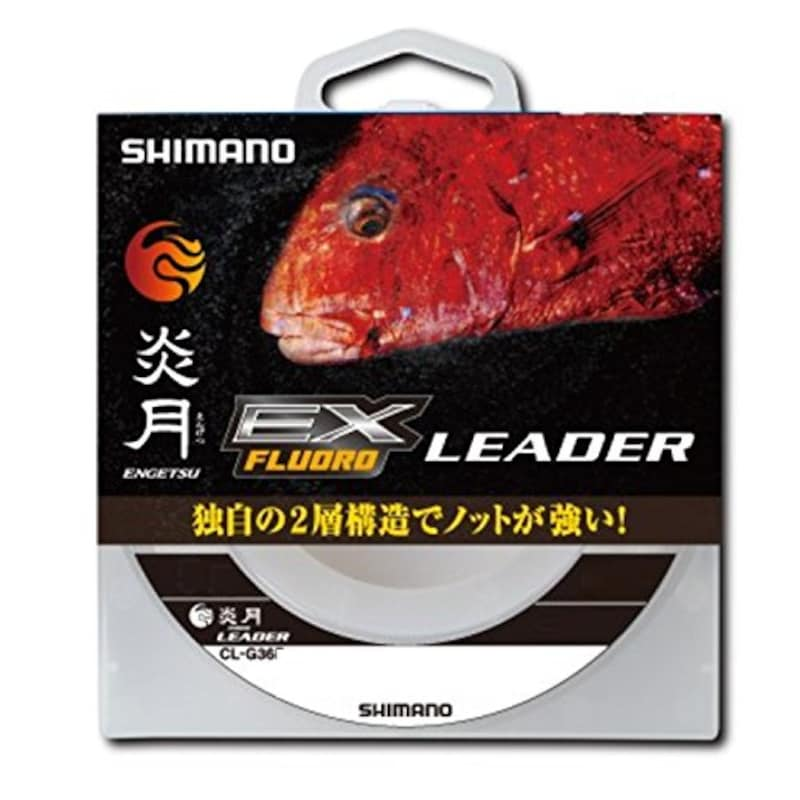 SHIMANO(シマノ),ショックリーダー 炎月 真鯛 E,CL-G26P
