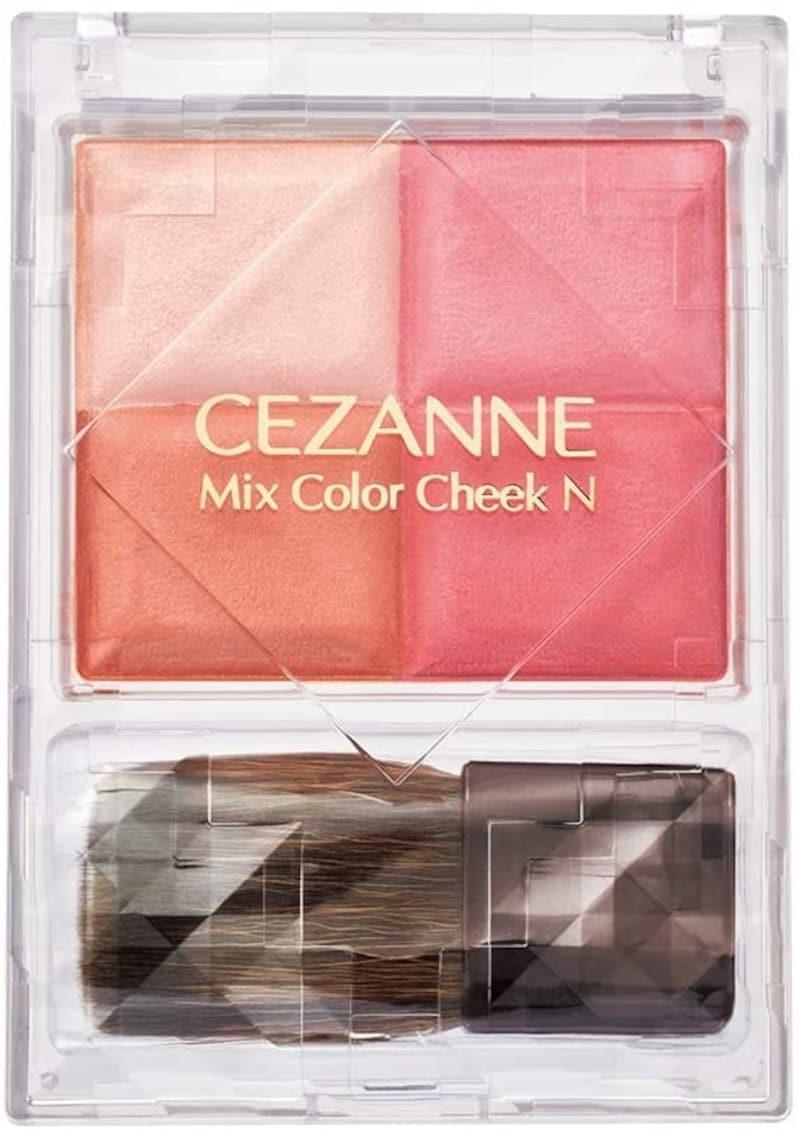 CEZANNE(セザンヌ),ミックスカラーチークN,N02