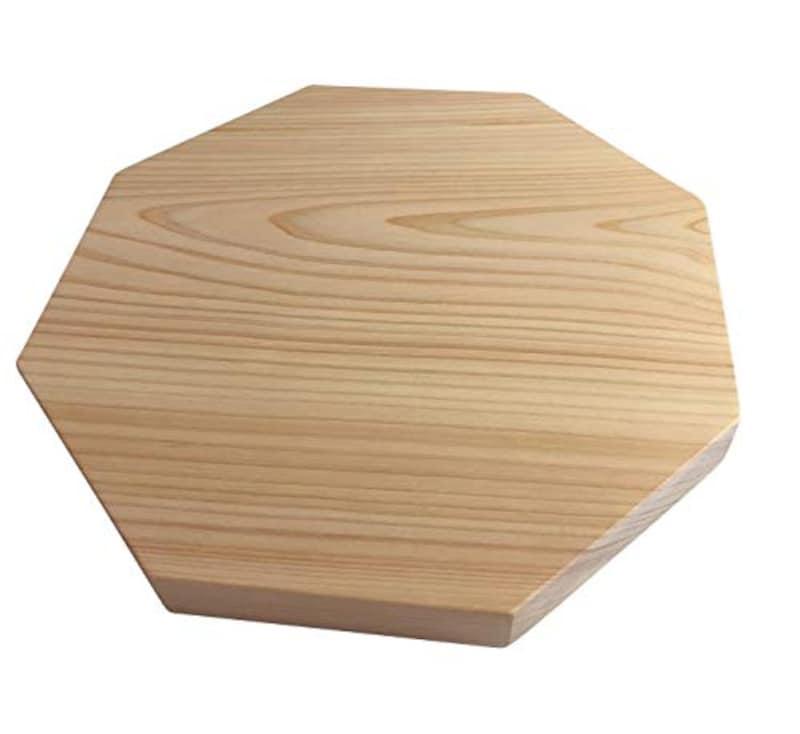 ひのきまな板の美吉野キッチン,八角形のひのきまな板
